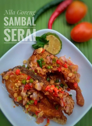 Nila Goreng Sambal Serai so Simple