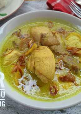 Cara Memasak Opor Ayam Kuning : memasak, kuning, Masak, Bumbu, Kuning, Memasak
