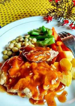 Cara Membuat Steak Daging Sapi Ala Restoran : membuat, steak, daging, restoran, Daftar, Resep, Steak, Daging, Resto, Favorit, Sambal, Embem