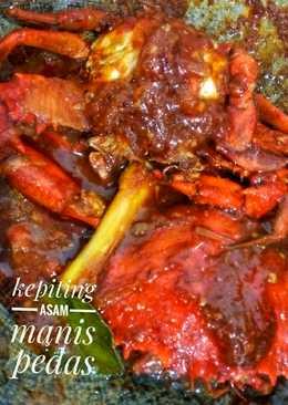 Cara Memasak Kepiting Pedas : memasak, kepiting, pedas, Bumbu, Masak, Kepiting, Manis, Memasak
