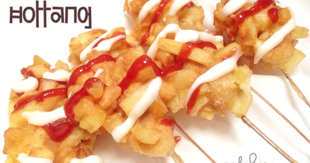 Resep Hotang Hotdog Kentang Dapur Kreasi