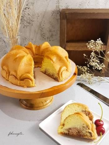 Roti bolu non gluten less sugar