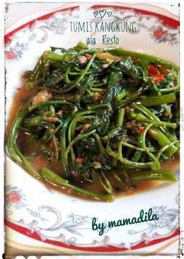 Resep Cah Kangkung Ala Restoran : resep, kangkung, restoran, 8.447, Resep, Kangkung, Restoran, Sederhana, Cookpad