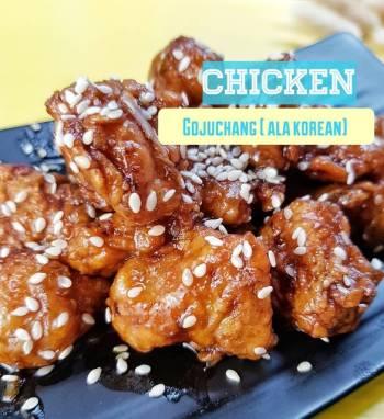 Chicken Gojuchang (Ala saos korea)