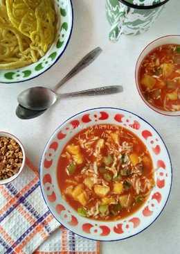 Resep Rujak Cuka : resep, rujak, Resep, Rujak, Sederhana, Cookpad