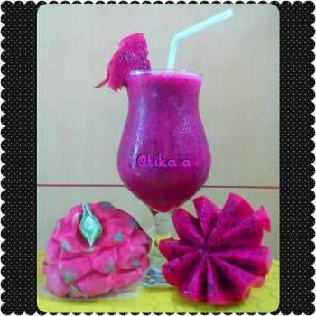 Jus Buah Naga (Dragon Fruit)