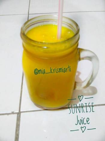 Sunrise Juice (Mangga &Nanas)