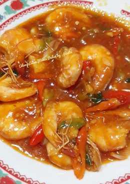 Resep Udang Asam manis pedas sederhana oleh salfiah - Cookpad