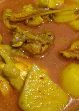 Resep Gulai Ayam Jawa : resep, gulai, Resep, Masakan, Gulai, Mudah