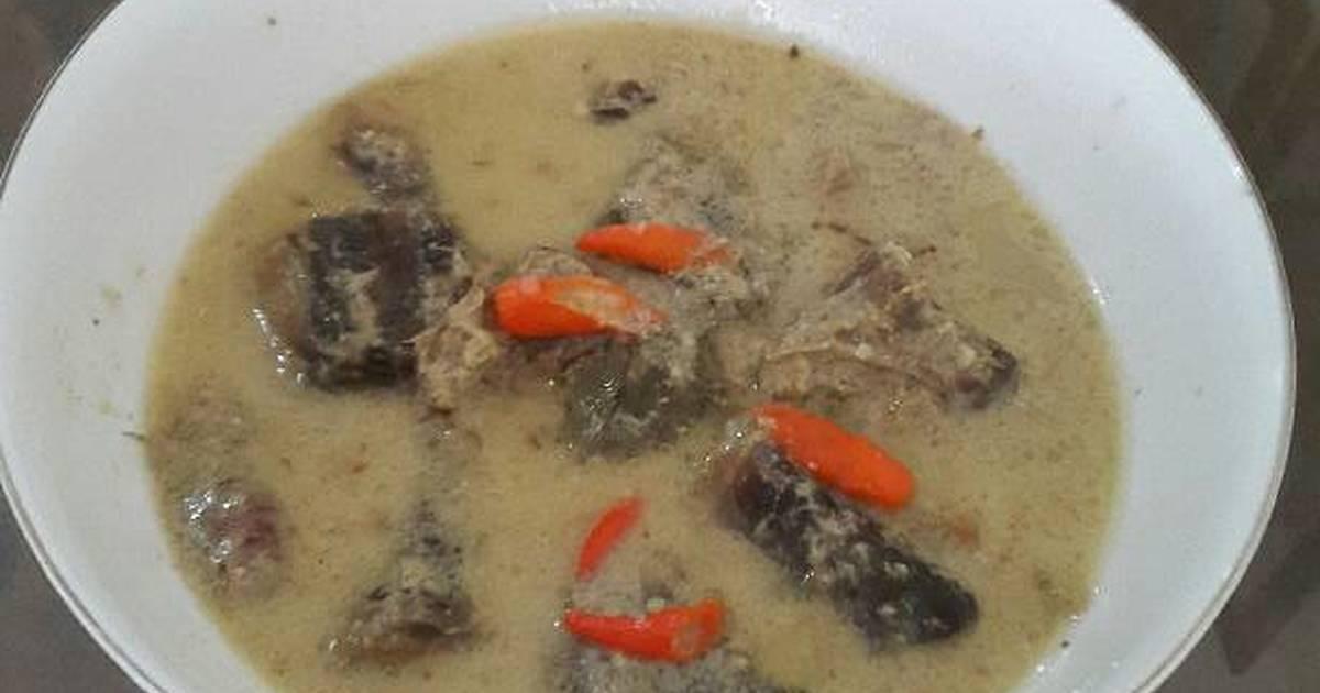 Resep Mangut asap ikan cucut oleh Mbak Yus  Cookpad