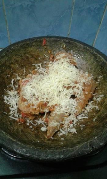 Ayam Geprek Mozarella #BikinRamadanBerkesan