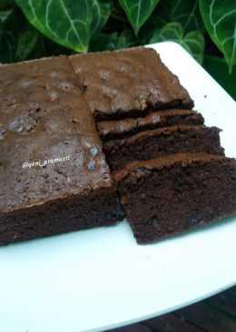 Brownies Panggang Lembut : brownies, panggang, lembut, Resep, Brownies, Panggang, Ekonomis, Tanpa, Terbaru!