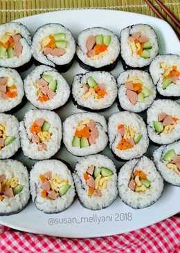 Cara Bikin Sushi Yang Enak Dan Bisa Anda Masak Dirumah