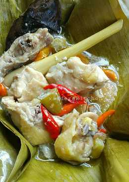 Cara Membuat Garang Asem Ayam : membuat, garang, Resep, Garang