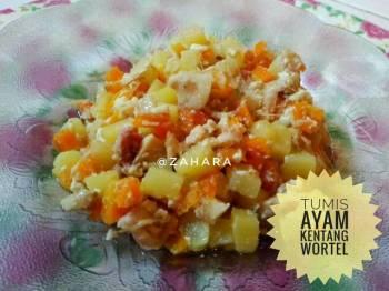 Tumis Ayam Kentang Wortel (Isian Risol/Pastel/Lumpia)
