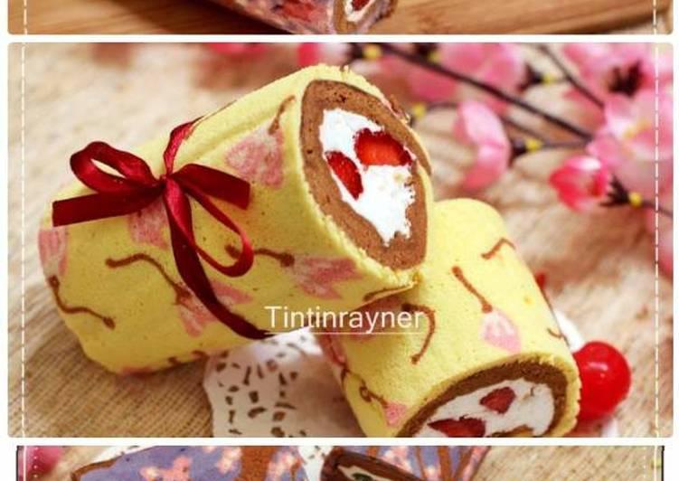 Resep Japanese Roll Cake kukus  enakga bau telur oleh