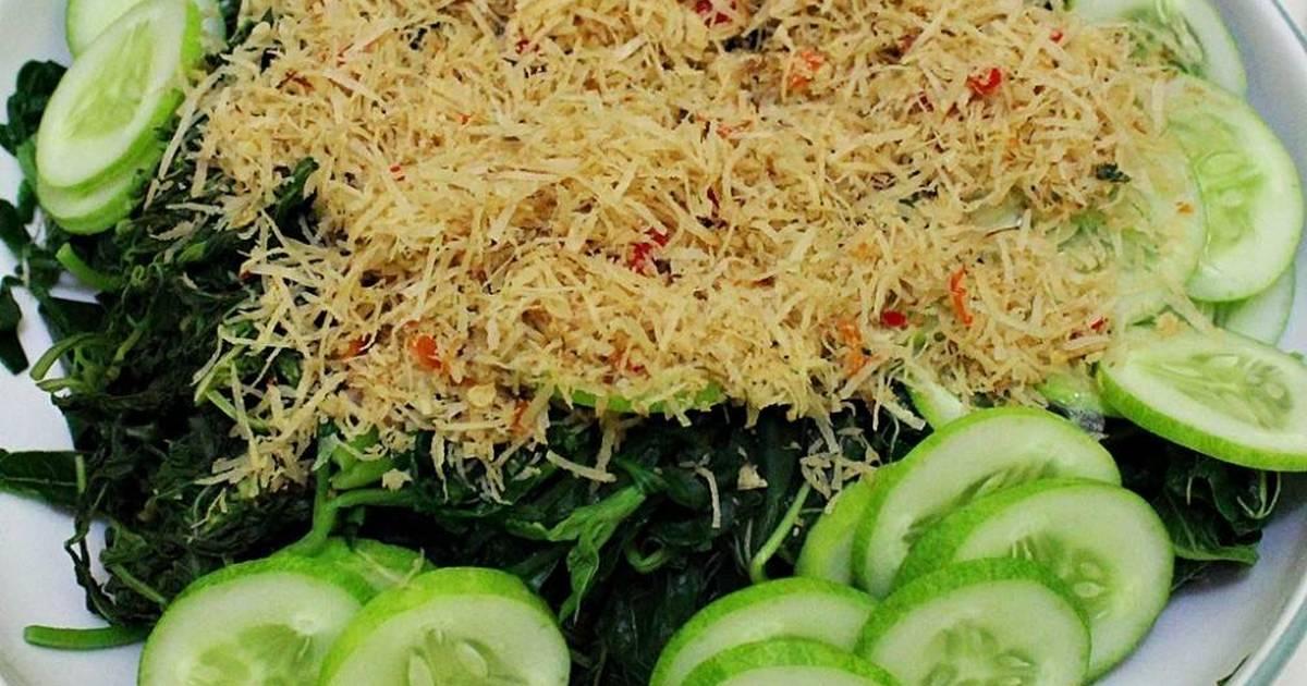 Resep Sayuran Hijau Bumbu Urap Kelapa Sangrai oleh Trans Wahyuni  Cookpad