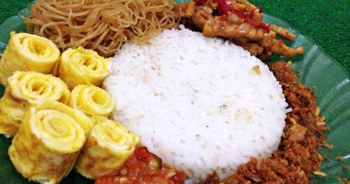 Resep Nasi Uduk Santan Instan oleh Eva Aldila Romadini