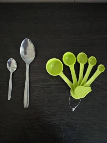 Perbedaan sendok takar, sendok makan biasa dan sendok teh biasa