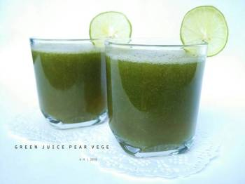 Green Juice Pear Vege