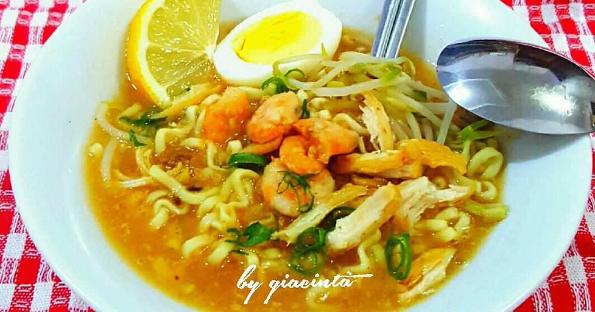 Resep Mie Kuah Udang tauge oleh Giacinta Permana  Cookpad