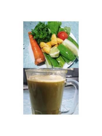 Jus sayur mix buah#BikinRamadanBerkesan