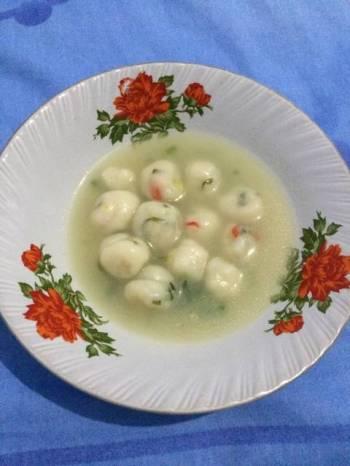 Cibelok (Cilok Tepung Beras) Kuah Homemade