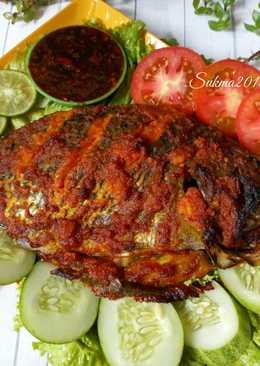 Bumbu Ikan Bakar Mujair : bumbu, bakar, mujair, Gambar, Bakar, Mujair, Makanan