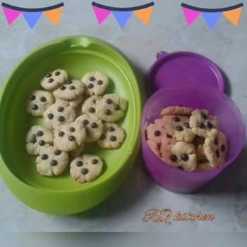 Cookies susu 3 bahan #BikinRamadanBerkesan