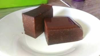 Puding Brownies Roti Tawar