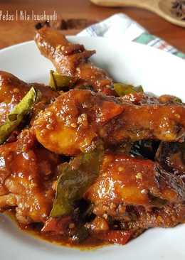 Resep Ayam Kecap Pedas : resep, kecap, pedas, Resep, Kecap, Pedas, Manis, Masakan, Mudah