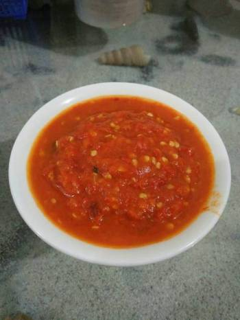 Sambal Tomat Pedas