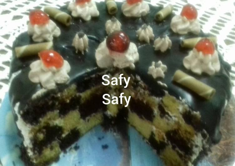 تورتة الشطرنح كل سنة وانتى طيبة ياانا بالصور من Safy Safy