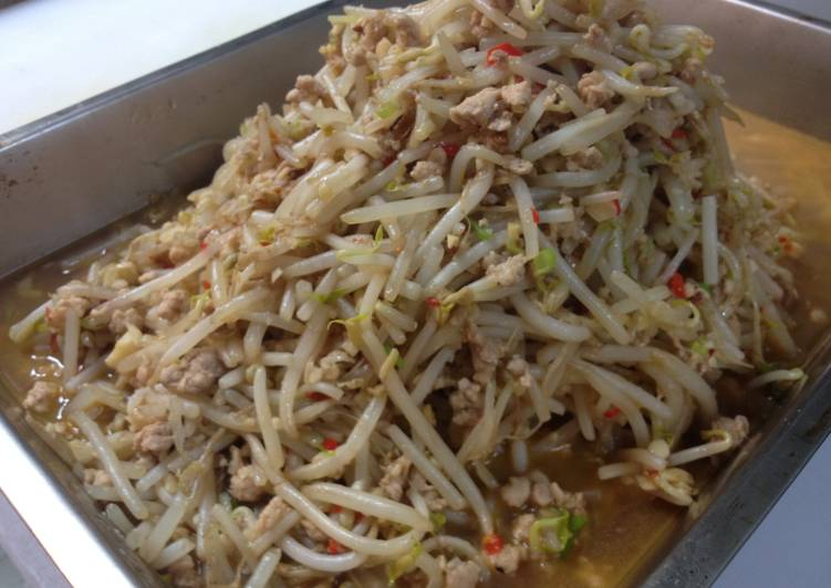 魚香拌豆芽菜食譜 by 小義 - Cookpad