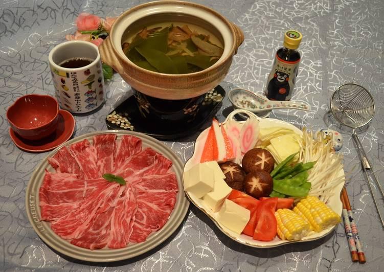 日式柴魚昆布牛肉火鍋食譜 by Fen's - Cookpad