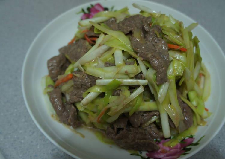 韭黃炒牛肉食譜 by yuyu - Cookpad