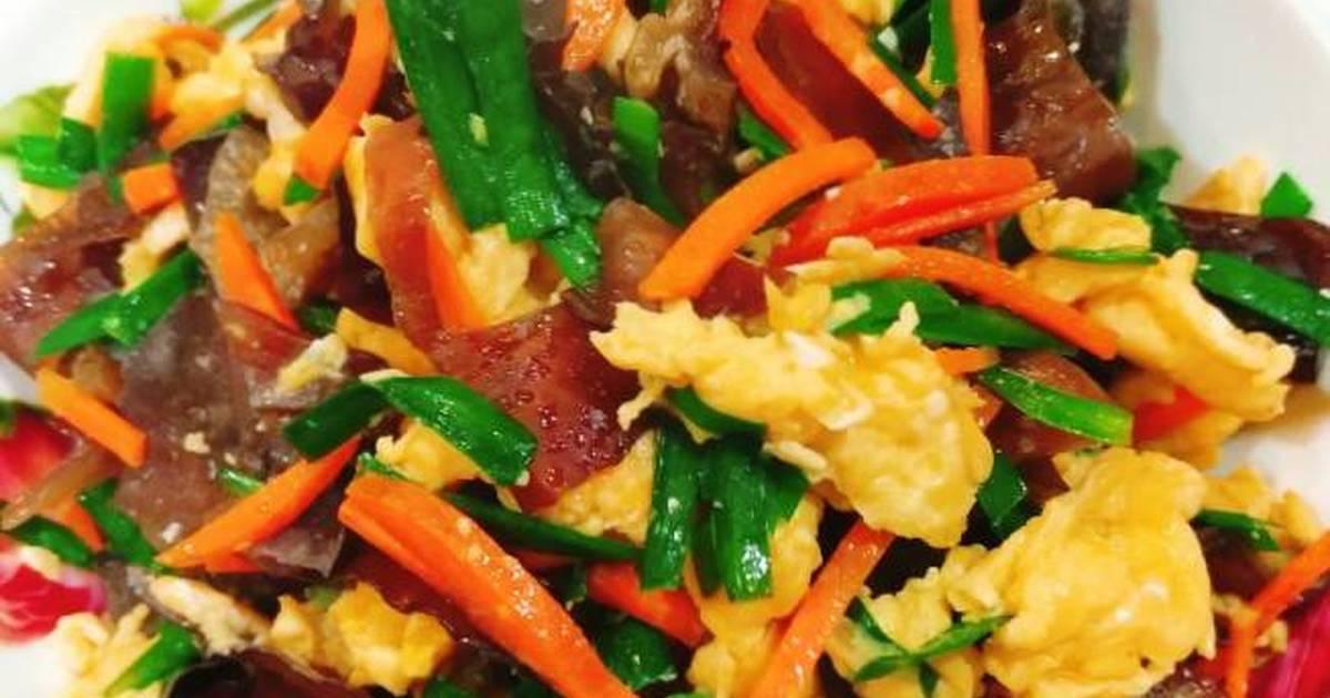 木耳炒蛋 食譜,作法共12個 - Cookpad