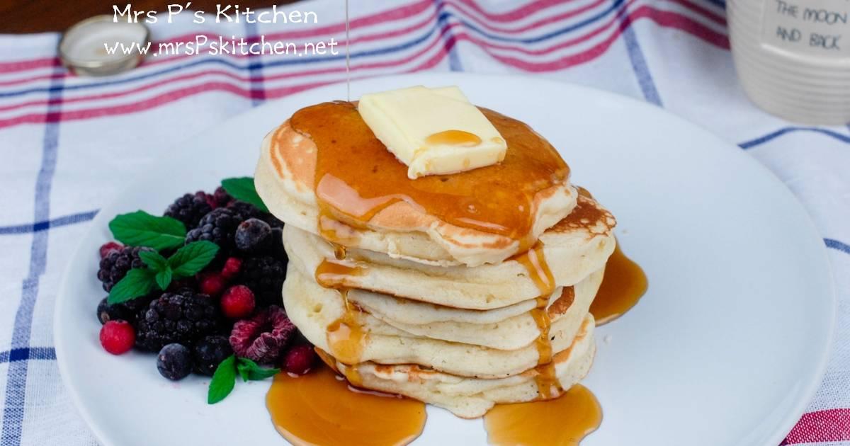 超鬆軟美式鬆餅Pancakes食譜 by Mrs Ps Kitchen - Cookpad