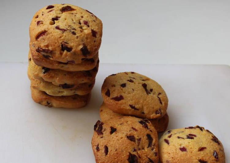 蔓越莓玉米粉餅乾Zaletti食譜 by 野犬的廚房 - Cookpad