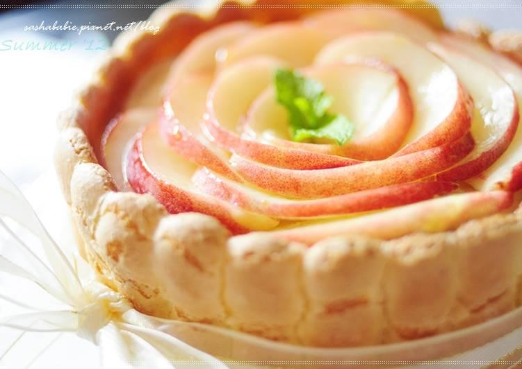 ☼ 今年夏天的本命甜點。香甜多汁的水蜜桃夏洛特 charlotte aux pêches ♥食譜 by sashababie - Cookpad