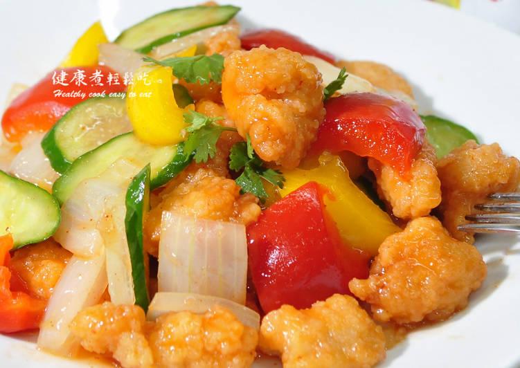 糖醋雞球食譜 by 金箔的健康煮 - Cookpad