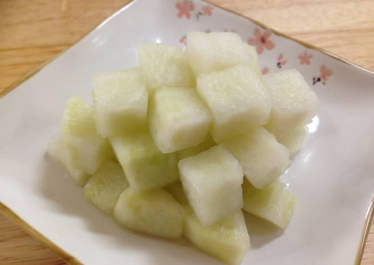 韓式醃蘿蔔치킨무食譜 by monaca - Cookpad