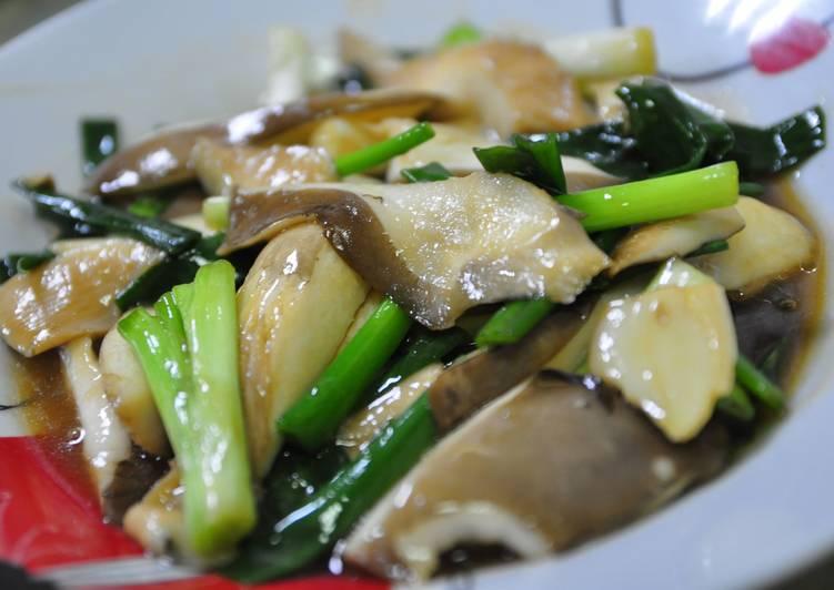 蔥爆蠔油鮑魚菇食譜 by QQ廚房 - Cookpad