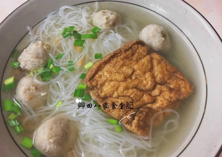油豆腐魚丸米粉湯食譜 by 艸田八家食堂記 - Cookpad