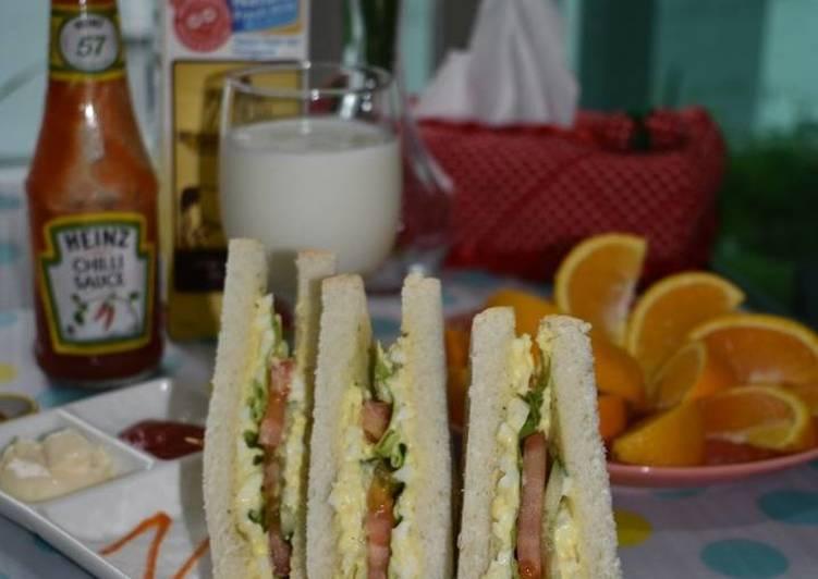 resipi sandwich telur viral resepi bergambar Resepi Telur Masak Kicap Azie Enak dan Mudah