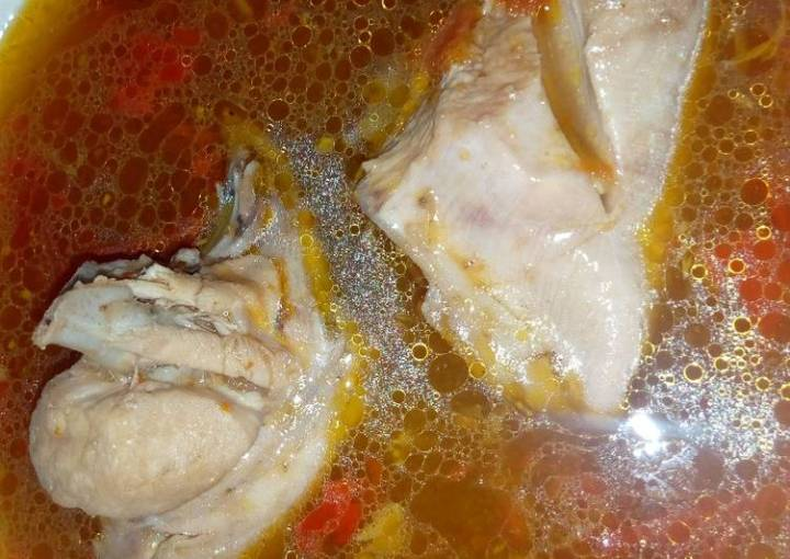 Chicken pepper soup