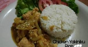 Chicken saos Yakiniku