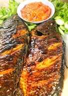 Bumbu Ikan Bakar Mujair : bumbu, bakar, mujair, Resep, Mujair, Bakar, Kemiri, Sederhana, Rumahan, Cookpad