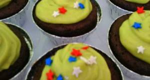 Chocolate Cupcake With Avocado Frosting