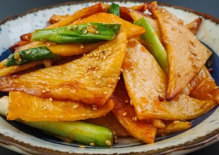 Korean Style Fish Cake